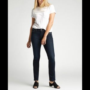 Silver Jeans Co Avery Straight Jeans size 28
